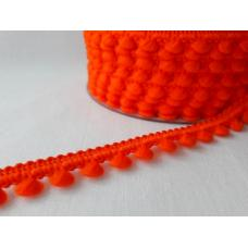 "Mini-Pompomborte ""Orange"""
